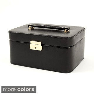 'Leah' Leather Jewelry Box