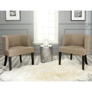 Safavieh Lola Grey Tub Chair (Set of 2)