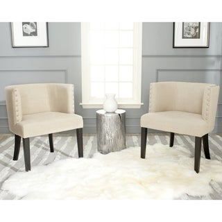 Safavieh Lola Neutral Tub Chair (Set of 2)