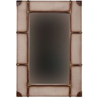 Linon Vintage Large Framed Wall Mirror