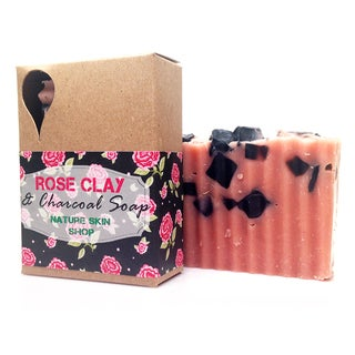 Egyptian Jasmine Rose Clay and Charcoal Soap