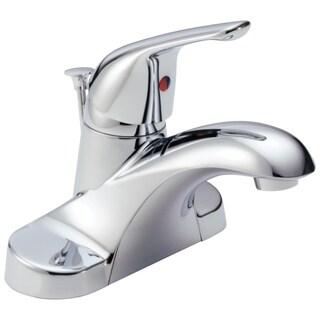 Delta B510LF Foundations Chrome Single-handle Centerset Lavatory Faucet