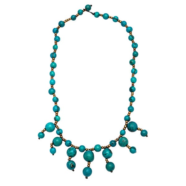 Miki Fair Trade Looped Bead Necklace (Bolivia)