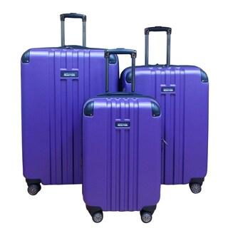 Kenneth Cole Purple Reverb 3-piece Hardside Spinner Luggage Set