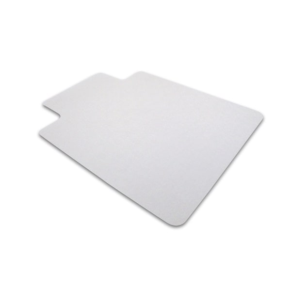 Ecotex 100-percent Post Consumer Recycled Lipped Shape 48 x 51-inch Chairmat For Hard Floors