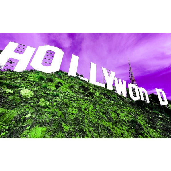 Hollywood' Giclee on Canvas Wall Art