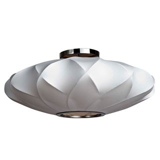 Legion Furniture Semi-Flush 30-inch Cocoon Ceiling Lamp