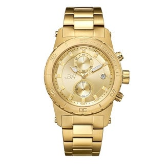 JBW Men's Hudson Diamond Goldtone Watch