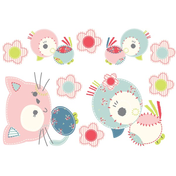 Kitty Decal - Wall Stickers