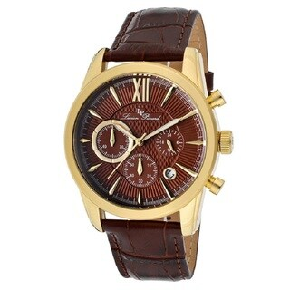Lucien Piccard Men's LP-12356-YG-04 Mulhacen Brown Watch