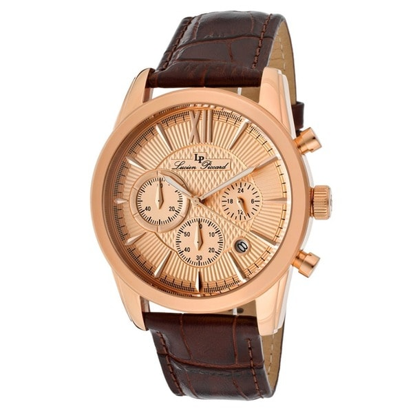 Lucien Piccard Men's LP-12356-RG-09 Mulhacen Rose gold Watch