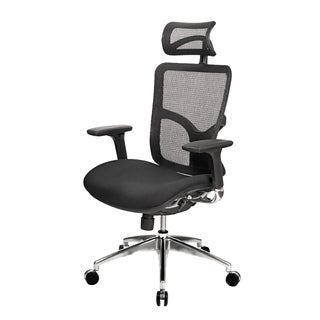 AtTheOffice 2 Series High Back Black Chair