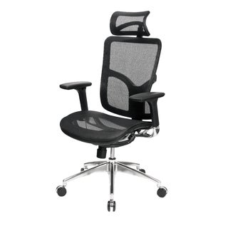 AtTheOffice 2 Series High Back Black Office Chair