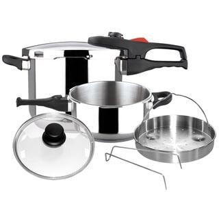 Practika Plus Stainless Steel 6-piece Pressure Cookware Set