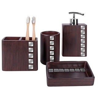 Marquee 4-piece Bath Accessory Set