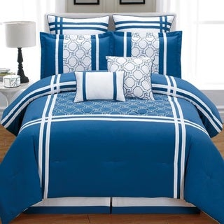 Fashion Street Aegean 8-piece Comforter Set