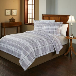 200 GSM Superior Flannel Striped Print Duvet Cover Set