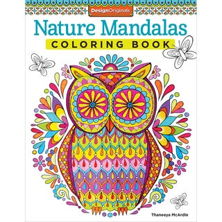 Design Originals-Nature Mandalas Coloring Book