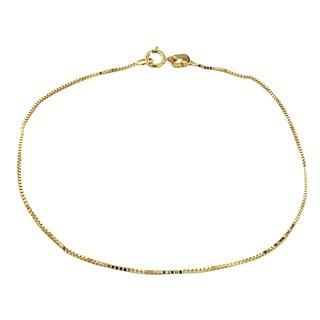 Mondevio 14k Yellow Gold .55mm Figaro Chain Necklace