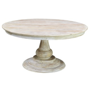 60 inch denso round wood dining table overstock