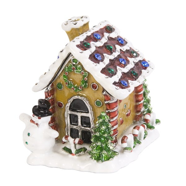 Gingerbread House Trinket Box
