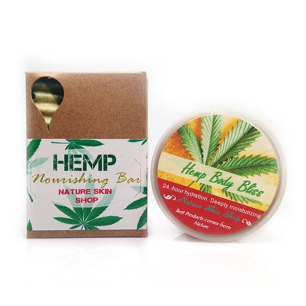 Hemp Butter Bliss and Moisturizing Bar Duo