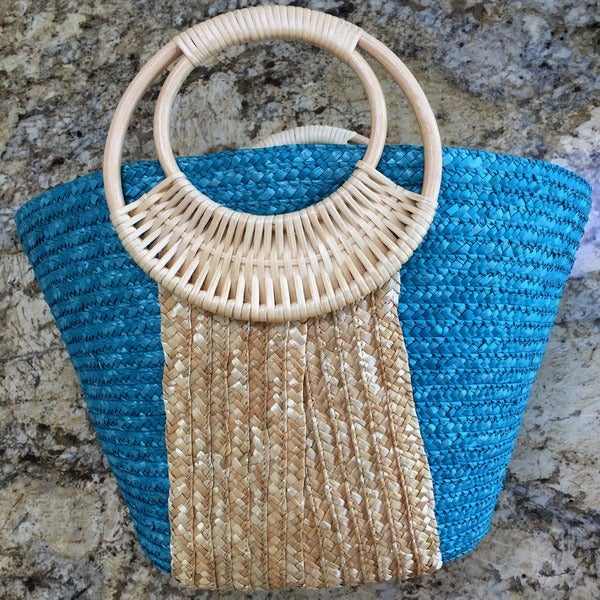 Beach Glam Women's Stylish Straw Beach Bag (China)