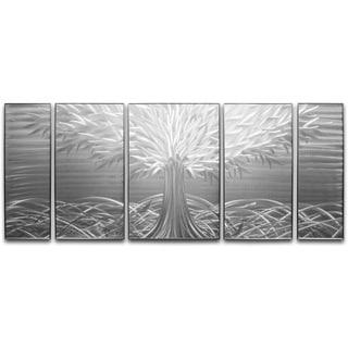 Tree of Life UnPainted' XL Metal Wall Art 24 x 55 in.