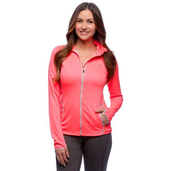 RBX Activewear Women's Bonded Jacquard Jacket 14661593