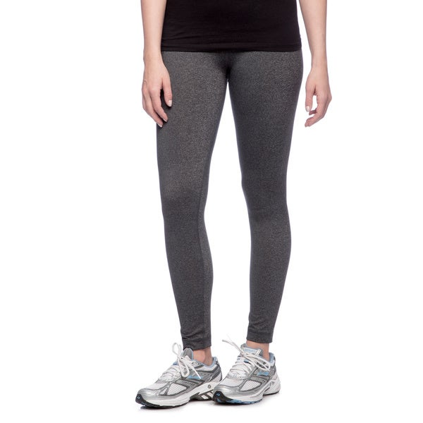 RBX Activewear Women's Charcoal Heather Yoga Leggings