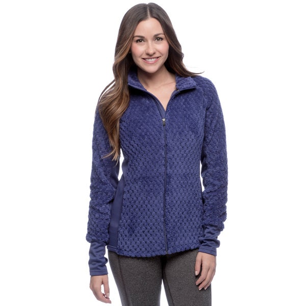 RBX Activewear Women's Pineapple Sherpa Solid Jacket
