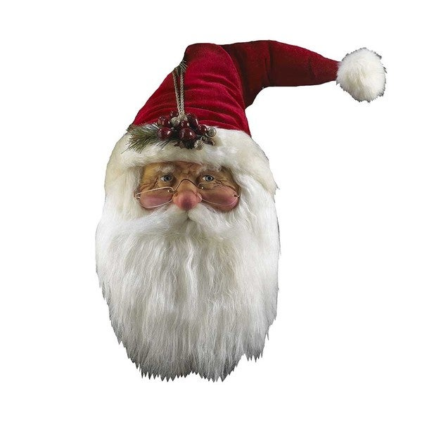 Kurt Adler 12-inch Red Santa Head Ornament