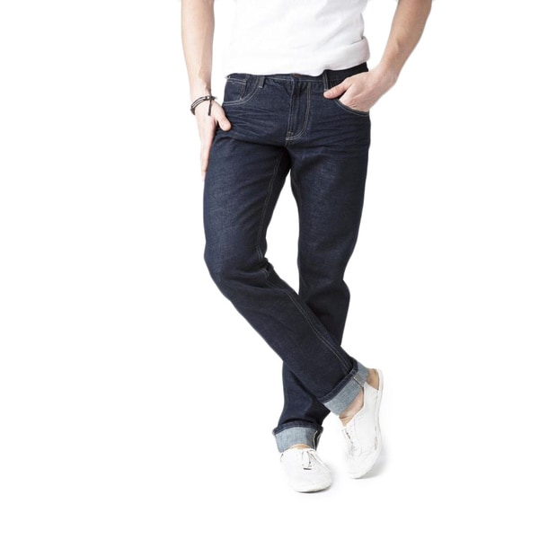 Simple Living High Thinking Men's '365 Selvage Everyday' Dark Indigo Jeans