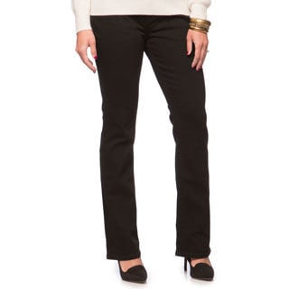 Levi's Women's Black Ink 515 Denim Jeans