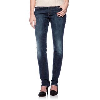 Levi's Women's 529 Glacier Blue Curvy Skinny Jeans