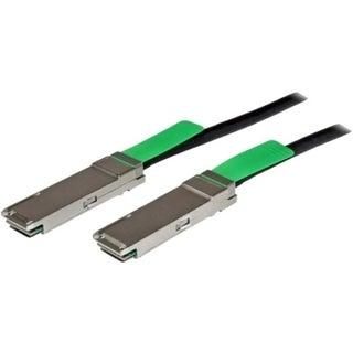 StarTech.com 2m QSFP+ 40-Gigabit Ethernet (40GbE) Passive Copper Twin