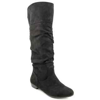 Report Women's 'Bostyn' Black Faux Suede Boots