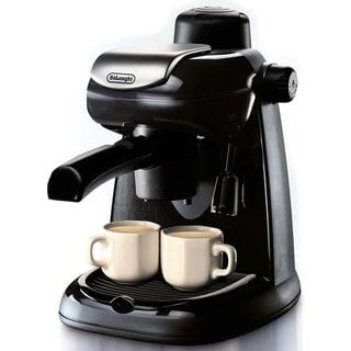 DeLonghi EC5 Steam-driven 4-Cup Espresso and Coffee Maker