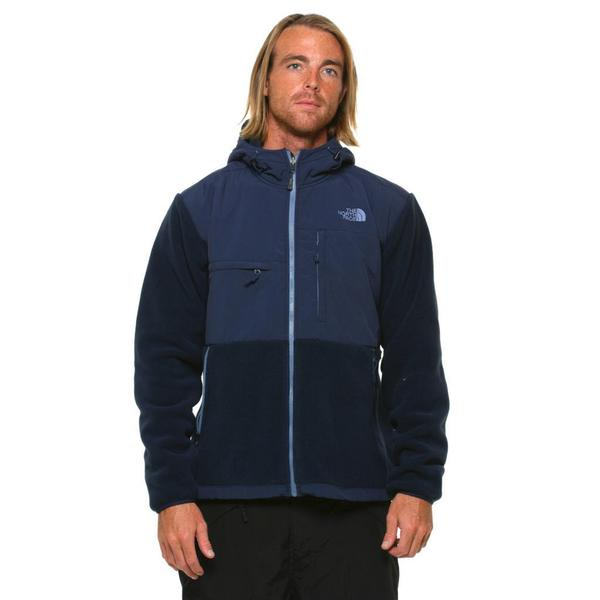 The North Face Men's Denali Hoodie Cosmic Blue Jacket