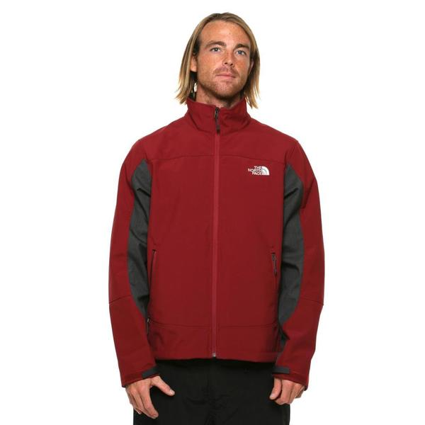 The North Face Men's Chromium Thermal Biking Red/ Asphalt Grey Jacket