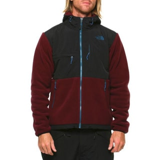 The North Face Men's 'Denali' Malbec Red and TNF Black Jacket