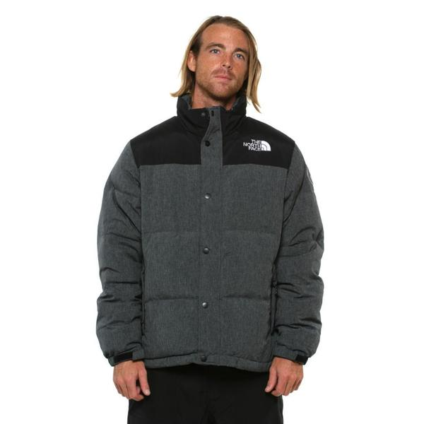 The North Face Men's Nuptse Heights Graphite Grey Jacket