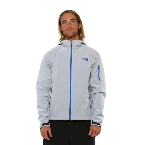 The North Face Men's Apex Android High Rise Grey Hoodie