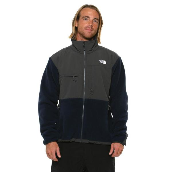 The North Face Men's Denali Cosmic Blue/Asphalt Grey Jacket