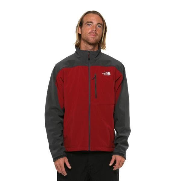 The North Face Men's Apex Bionic Red/Asphalt Grey Jacket