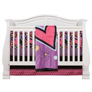 Sassy Shaylee 4-piece Crib Bedding Set