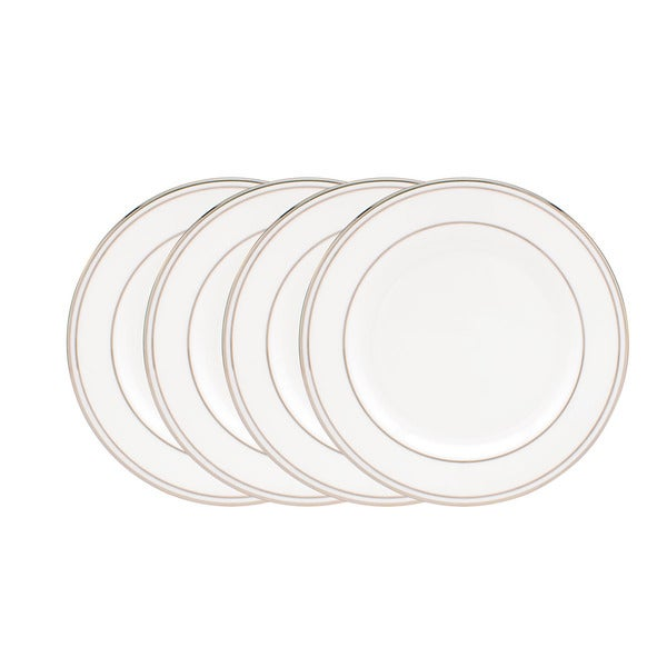 Lenox Federal Platinum Tidbit Plates (Set Of 4)