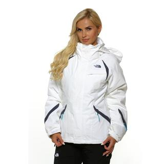 The North Face Women's Kira Triclimate TNF White/Greystone Jacket