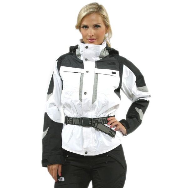The North Face Women's Steep Tech Rendezous Jacket in TNF White (XL)
