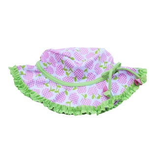 Azul Swimwear Girls 'Garden of Eden' Printed Sun Hat